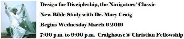 Design for Discipleship, the Navagators' Classic -- New Bible Study with Dr. Mary Craig